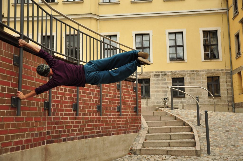Where's the Safest but Fun place to Train Parkour?