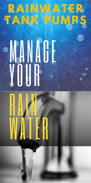 large range of rainwater tank pumps