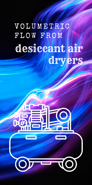 desiccant dryers for volumetric flow